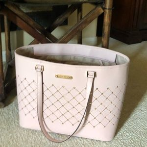 Micheal Kors- Pink & Gold Tote
